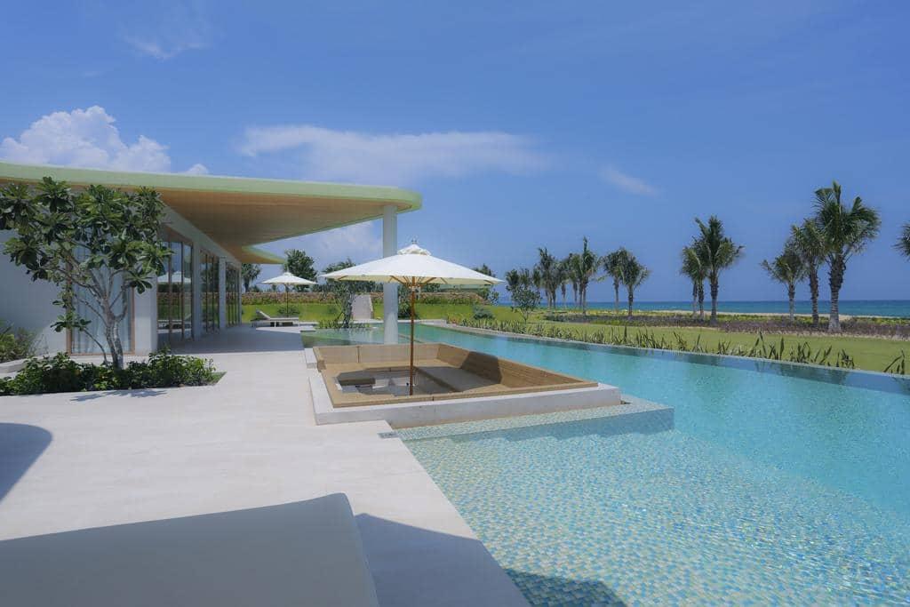 Villa 2 ngủ FLC Quy Nhơn Resort: Tiện ích dịch vụ và giá thuê