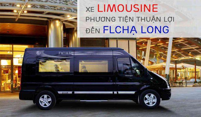 xe limousine phuong tien thuan loi den flc ha long